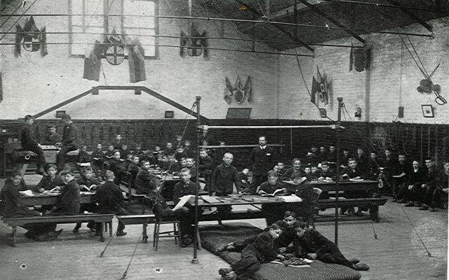 inside a reformatory school